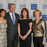 Georgettte Borrego Dulworth, Jay Wilton, Mary Ann Kirsch, Nancy Rae. Chrysler at Working Woman 100 Best Companies awards dinner, 10/23/13, Marriott Marquis, New York City. (Photo Bill Howard ...