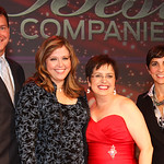 Chysler at Working Mother Awards ceremonyDouglas Doran, Linda Hamway, and Georgettte Borrego Dulworth of Chrysler Group LLC with Working Mother Media President Carol Evans at the Working Mot ...