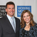Douglas Doran and Linda Hamway of Chrysler Group LLC at the Working Mother Magazine Awards, New York City, Oct. 10, 2012. Hamway, Head of Product Development Purchasing, D?Segment Vehicles ...