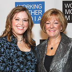 Linda Hamway and Nancy Rae of Chrysler Group LLC at the Working Mother Magazine Awards, New York City, Oct. 10, 2012. Hamway, Head of Product Development Purchasing, D?Segment Vehicles, Ch ...